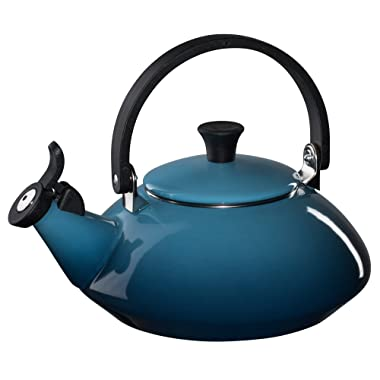 Le Creuset Enamel-on-Steel Zen 1-2/3-Quart Teakettle, Marine