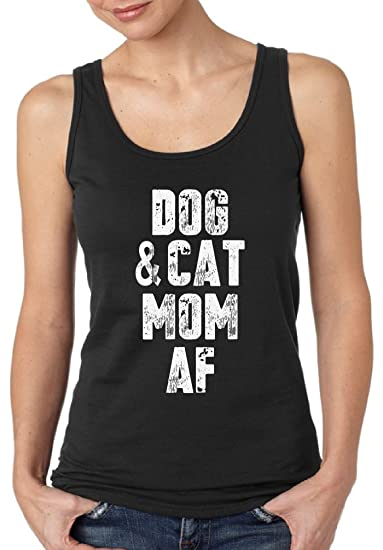 Pekatees Dog   Cat Mom AF Tank Top for Women Mother s Day Gifts for Pet  Lovers b25656fc4