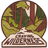 Asilda Store Craving Wilderness Embroidered Sew or Iron-on Patch