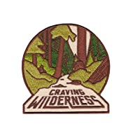 Asilda Store Craving Wilderness Iron-on Embroidered Patch