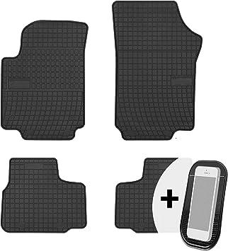Gummimatten Auto Fußmatten Gummi Automatten Passgenau 4 Teilig Set Passend Für Vw Up Seat Mii Skoda Citigo Ab 2011 Auto