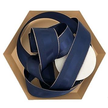 d58ddf3834a Amazon.com  Navy Blue Grosgrain Ribbon 1.5 inch