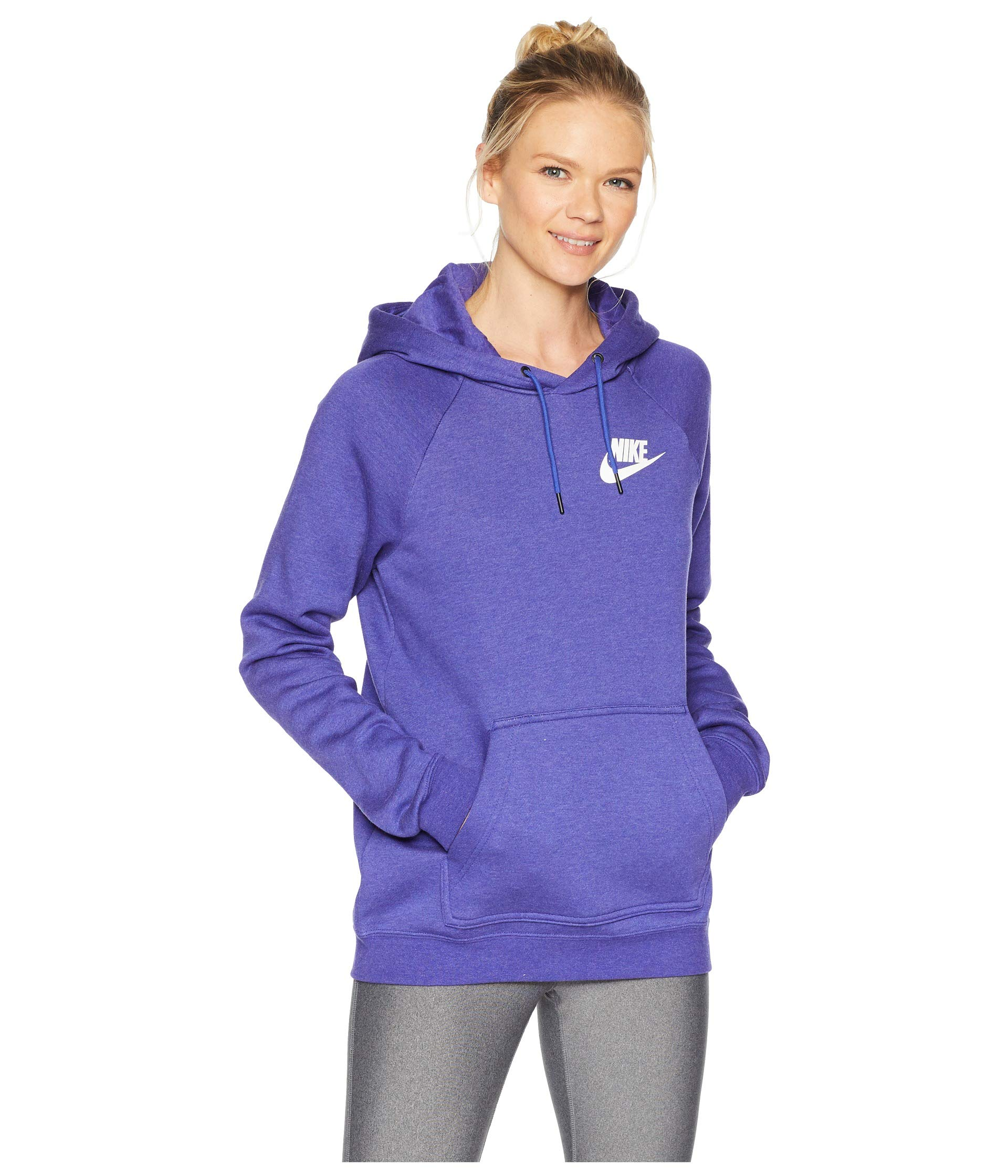 Nike Women's Sportswear Rally Hoodie (Light Concord/Small)