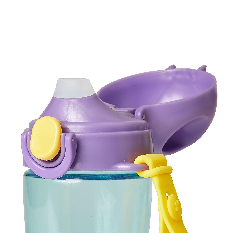 pour enfant Skip Hop Gourde en silicone avec paille Multicolore