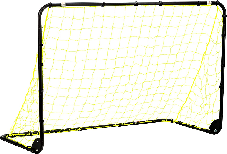Franklin Sports Premier Pliant Soccer Goal, Mixte, 4' x 6' Black Folding Goal, Noir