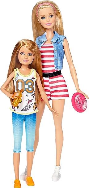 Amazon.es: Barbie Pack de 2 Muñecas, Barbie con su Hermana Stacey (Mattel DWJ64): Juguetes y juegos