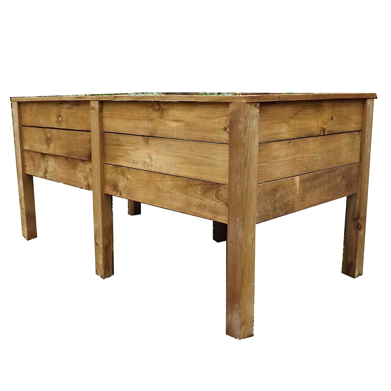 Superior planteadas cama maceta mesa: Amazon.es: Jardín