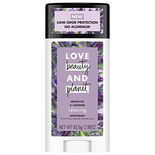 Love, Beauty, and Planet vegan deodorant