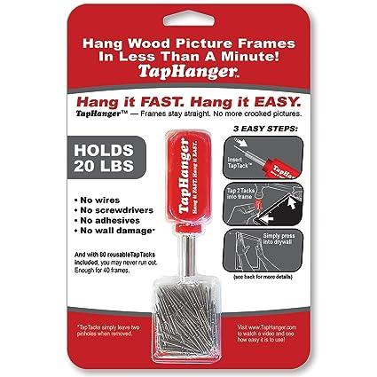 Taphanger Picture Frame Hanging Kit Amazon