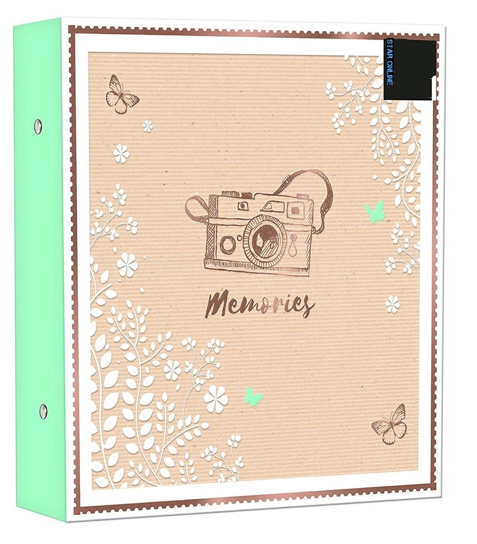 Grande formato album 500foto ricordi camera design può contenere 500foto da 15, 2x 10, 2cm 2x 10 2cm Star Online