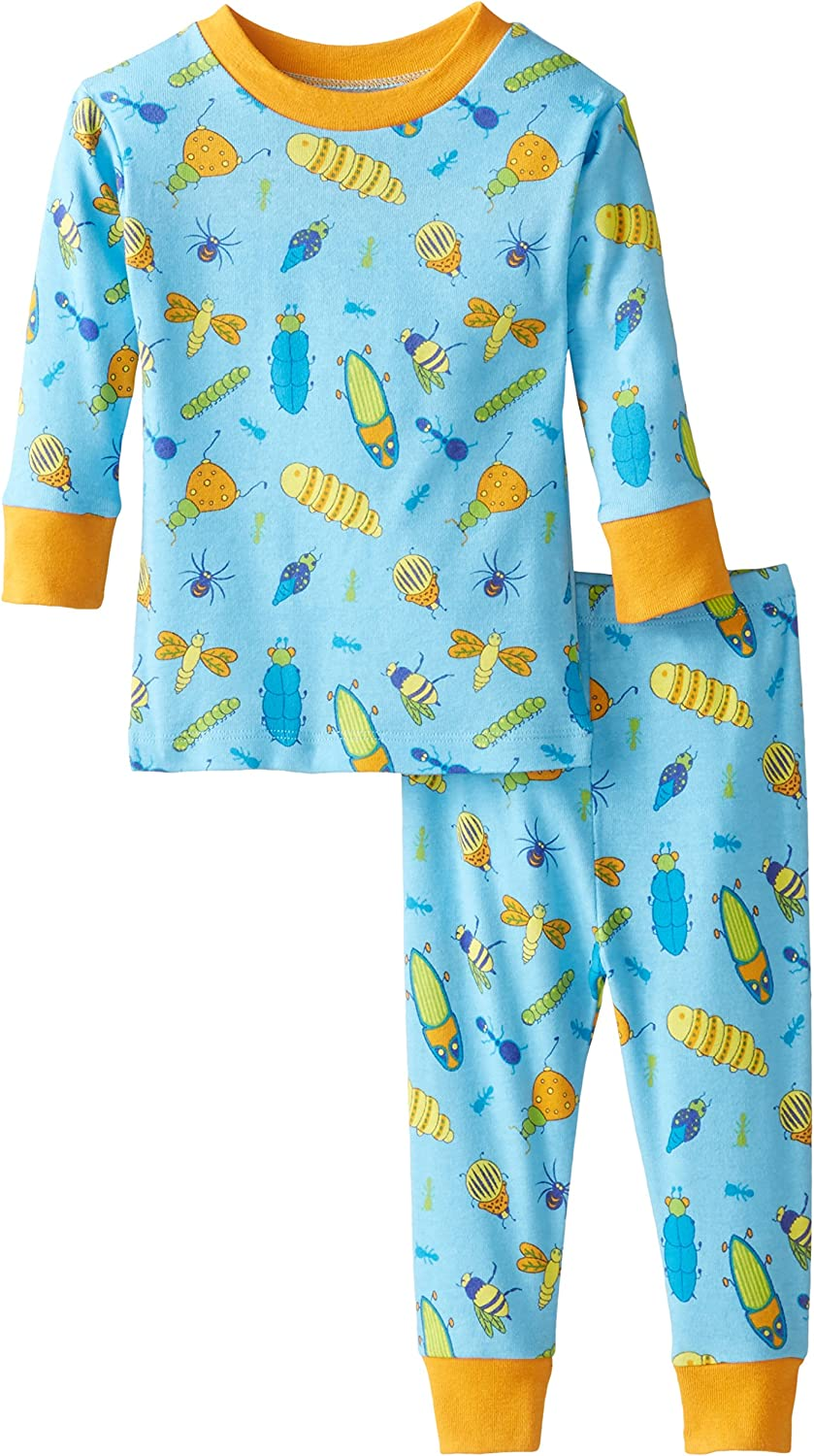 New Jammies Baby Boys Organic Cotton Pajama Set Bugs Life