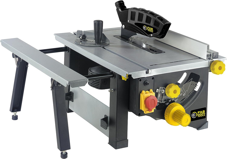 TS 1200 Sierra de mesa Potencia 1200 W, Diámetro 210 MM, Numero de ...
