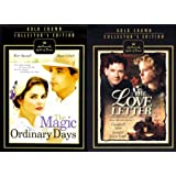 56f5be6db13ffd Gold Collectors Edition Love Letter & Magic of Ordinary Days Hallmark 2  Pack DVD Bundle Double