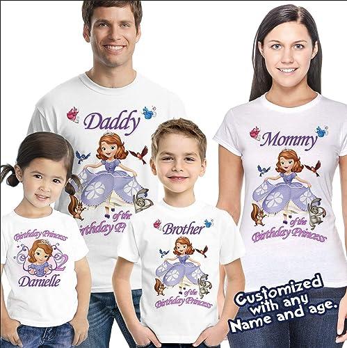 Amazon Sofia The First Birthday Shirt