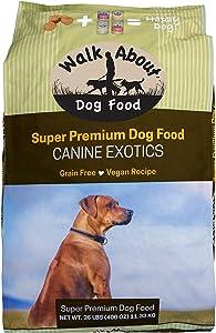 Walk About Pet, Super Premium Canine Exotics Dog Food