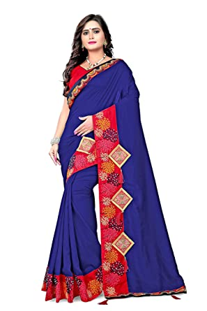 e410b95f52 Amazon.com: Indian Bollywood Designer Traditional Ethnic Fancy Silk Party  Wear Saree S5534: Clothing