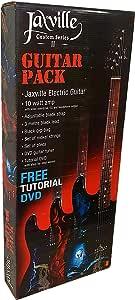 Pack de guitarra electrica Jaxville ST1HDPK amplificador, funda, cable, cuerdas y puas de recambio: Amazon.es: Instrumentos musicales