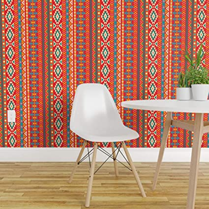 Spoonflower Peel And Stick Removable Wallpaper Southwest