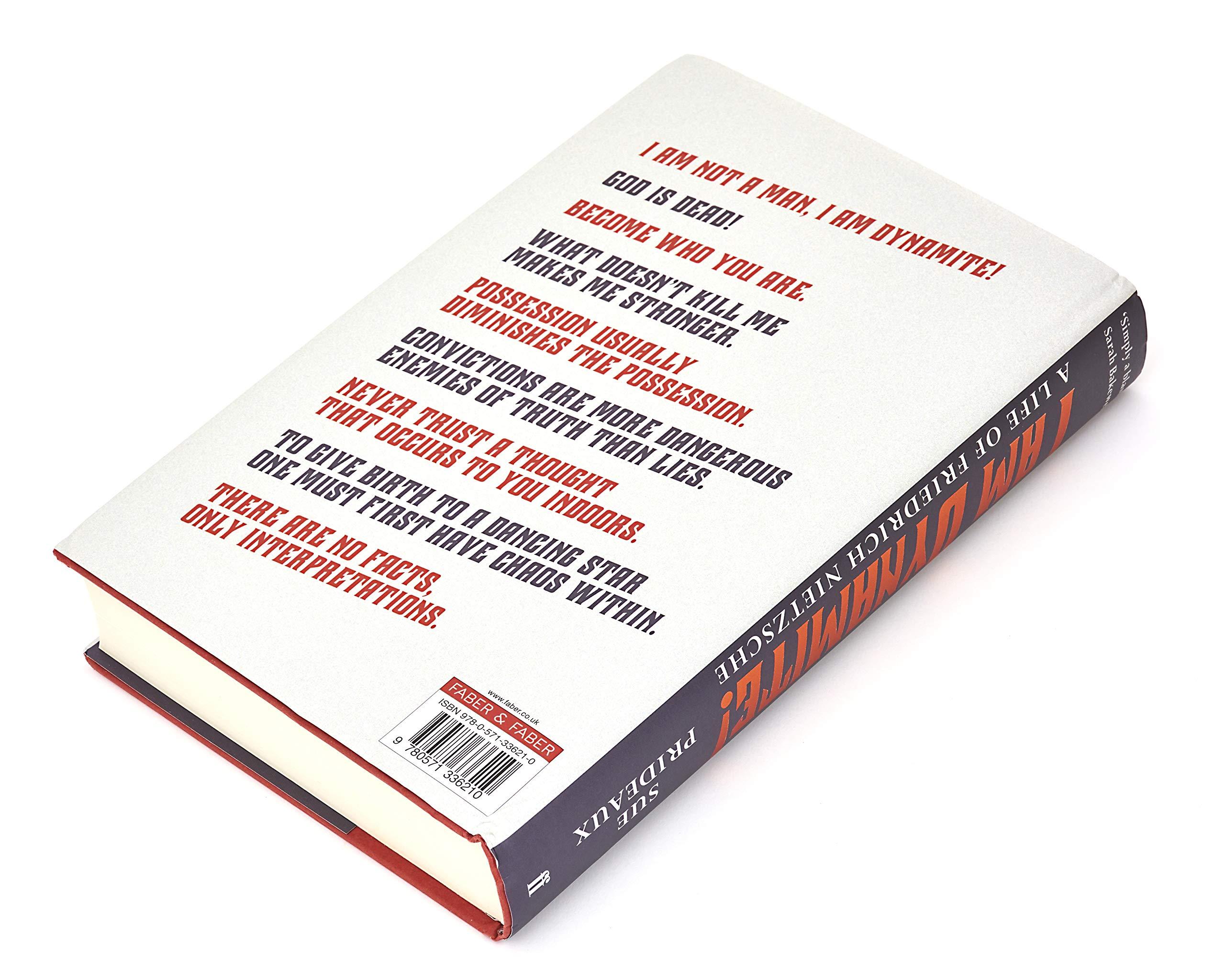 Citation Nietzsche Chaos : Buy i am dynamite!: a life of friedrich nietzsche book online at low