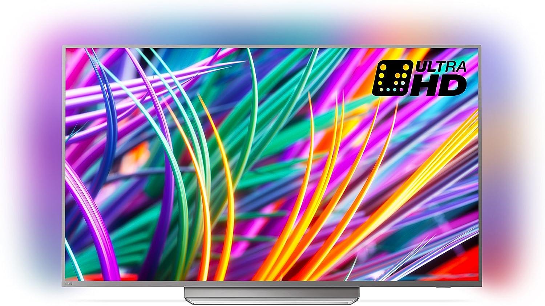 Philips 43pus7383 / 12 43-Pulgadas 4k Ultra HD Android Smart TV con ambilight 3 Lados, HDR Premium, procesador de Imagen p5 (2018 Modelo): Amazon.es: Electrónica