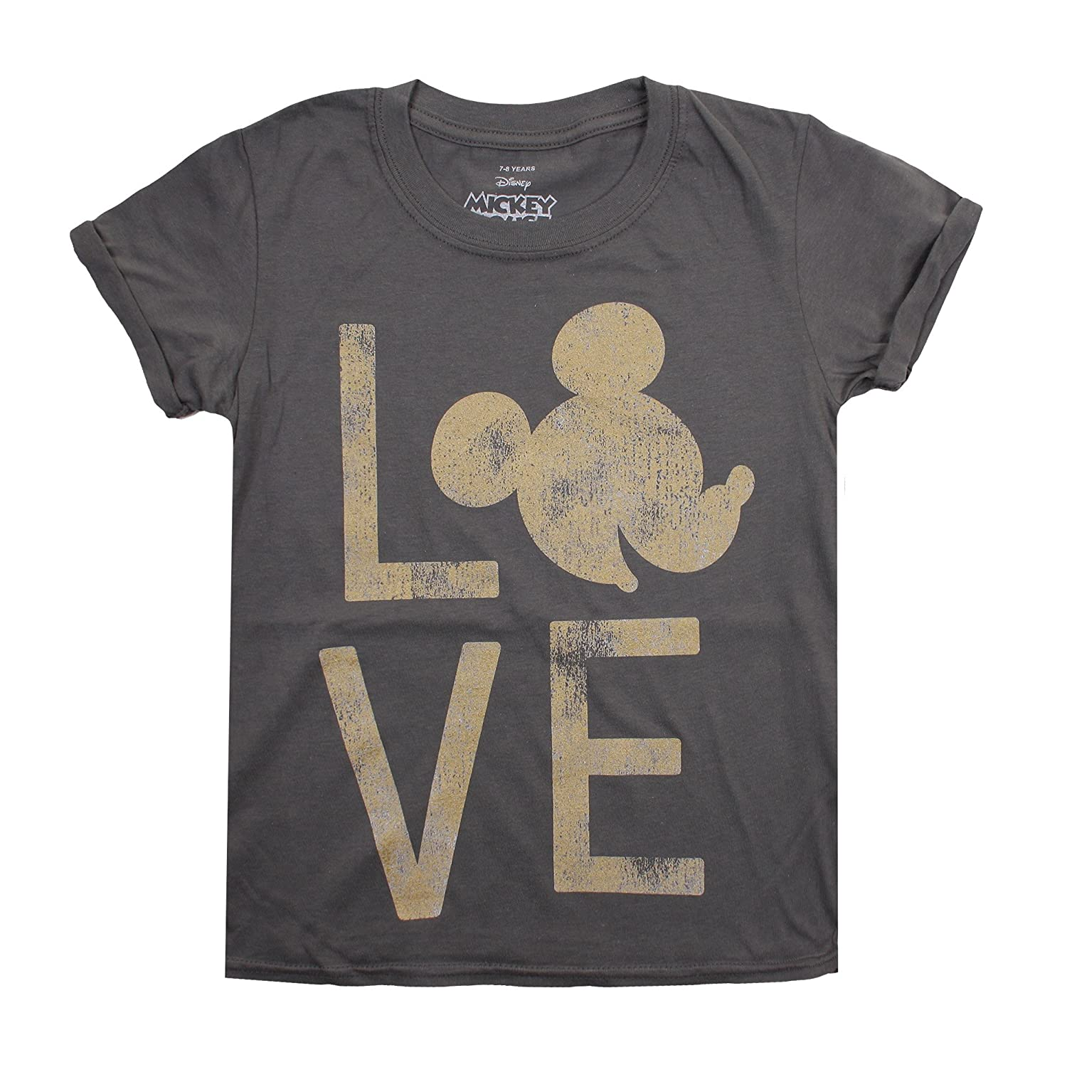 Disney Girl's Mickey Love T-Shirt RBGTS184