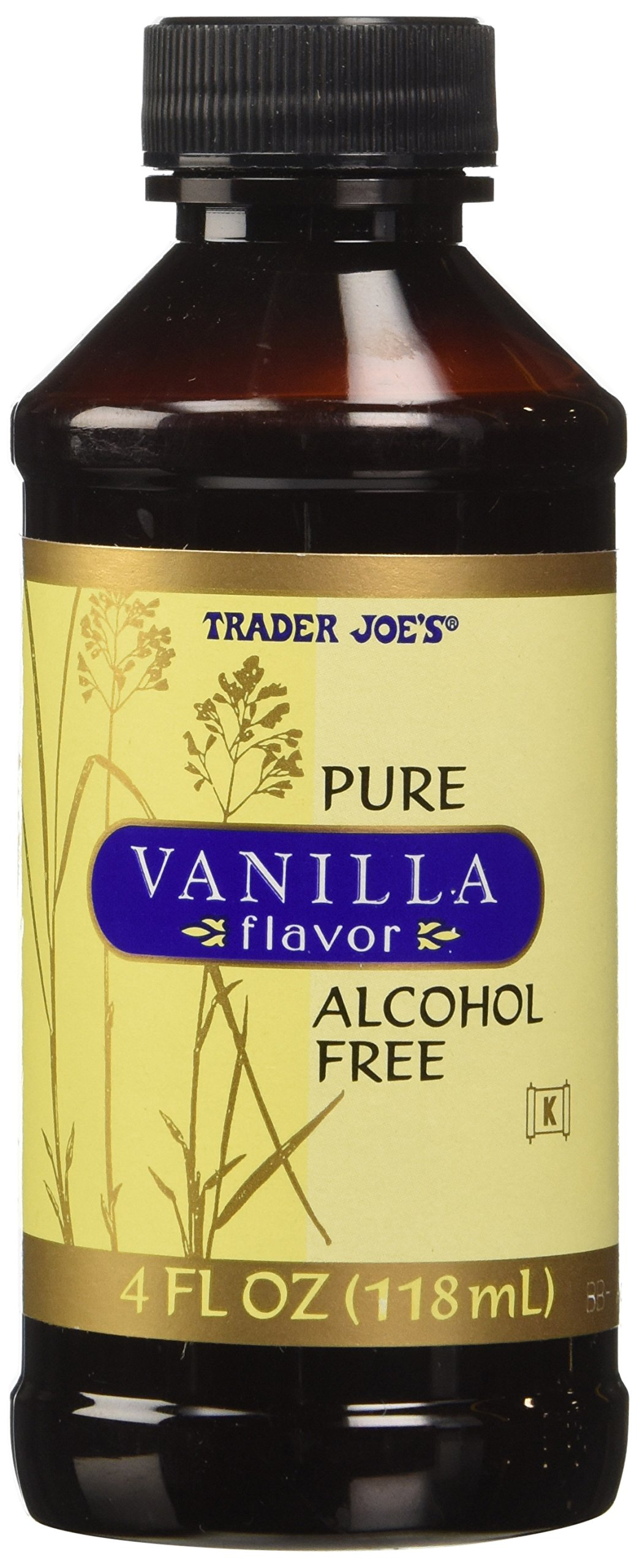 Trader Joe's Pure Vanilla Flavor Alcohol Free, 4 fl oz by Trader Joe's