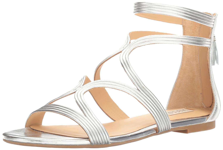 Badgley Mischka Women's Torrence Dress Sandal B01M8HN9DN 7 B(M) US Silver