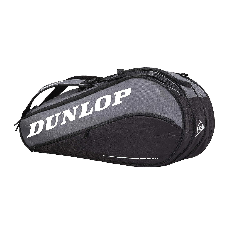 Dunlop D TAC CX Team 8 Pack BLK/Grey Bolsa de Tenis 8 Raquetas ...