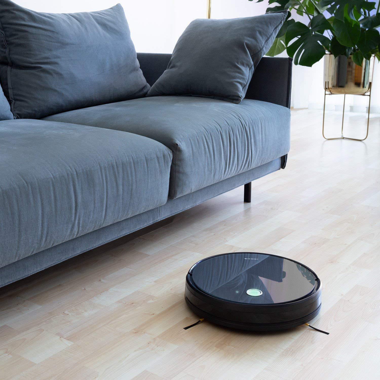 IKOHS Netbot S14 - Robot Aspirador 4 en 1, mapeo y App, navegación Inteligente, Barre, aspira, friega y Pasa la mopa, programable, Especial Mascotas, ...
