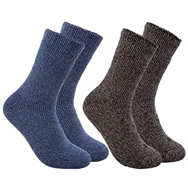 bbd808e3a Polar Extreme (2 Pairs) Heat Trapping Cold Weather Warm Thermal Socks  Women, Teens