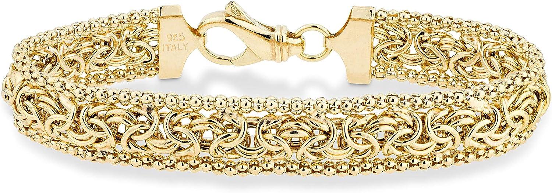 Amicia bracelet stainless steel gold bracelet with women/'s lozenge