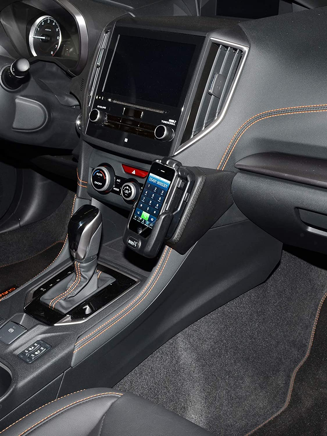 Since 2017 XV//CROSSTREK Kuda 3275 Leather Mount Black Compatible with Subaru Forester Since 2019 Since 2017 Impreza