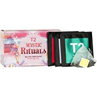 T2 Tea Mystic Rituals Tea Sampler Gift Box, 20 Variety Teabags in Individual Sachets, 42g, 20 Pieces