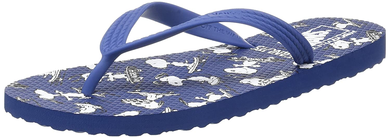 e536393963e6 Amazon.com   Vans X Peanuts Hanelei Mens Flip Flops   Shoes