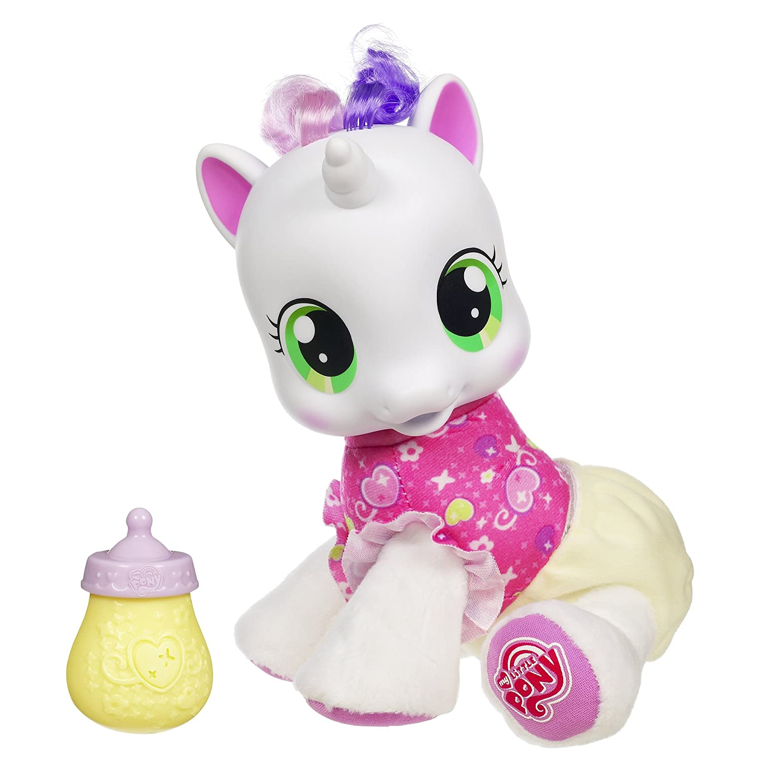 Amazon My Little Pony So Soft Newborn Sweetie Belle Toys & Games