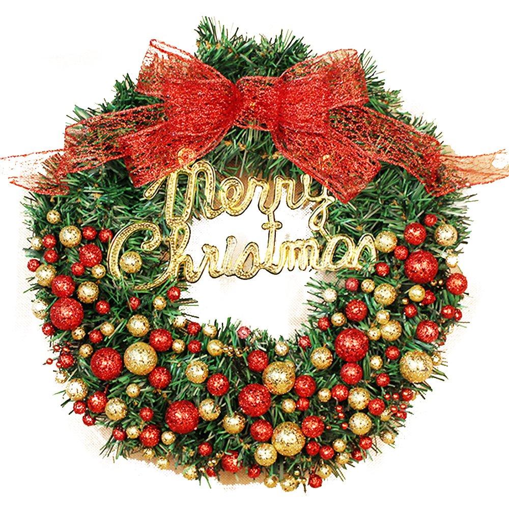 Christmas harvest, fruit wreath, rattan ring pendant (1200mm, red)