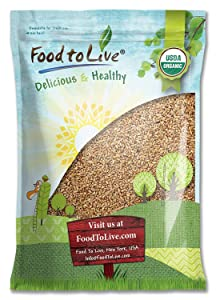 Organic Wheat Berries, 10 Pounds – Non-GMO, Kosher, Raw, Sproutable, Vegan, Sodium and Sugar Free