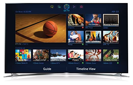 samsung slim 55 led 3d 1080p smart tv 2.0 hdtv