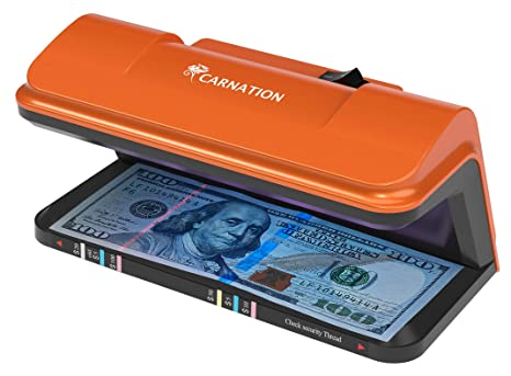 Amazon.com : Bill Money Detector with UV Counterfeit Detection and Free Counterfeit Detection Pen : Office Products