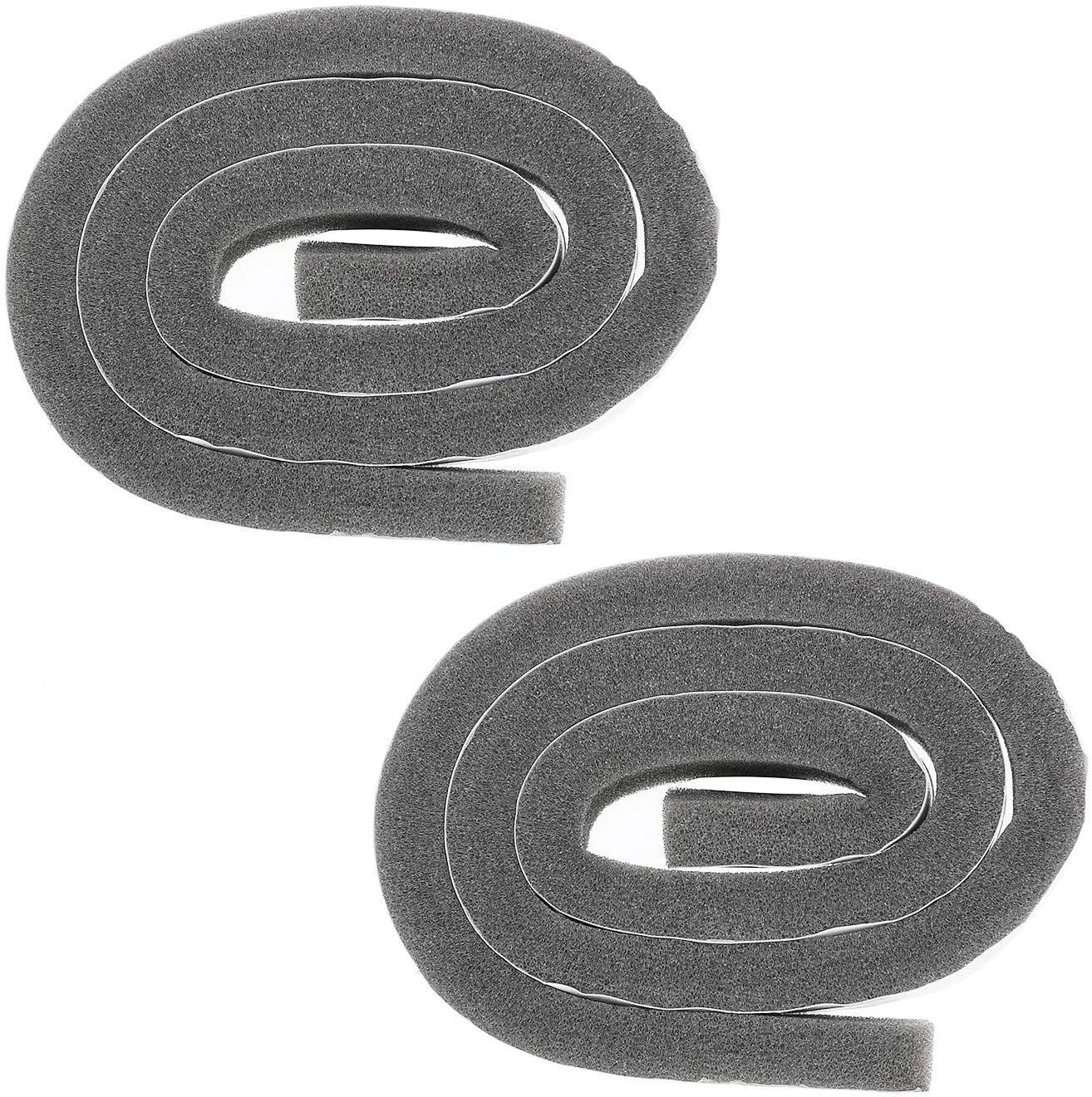 339956 Dryer Lint Screen Foam Housing Seal for Whirlpool Kenmore Replace EA345944 PS345944 WP339956 Pack of 2