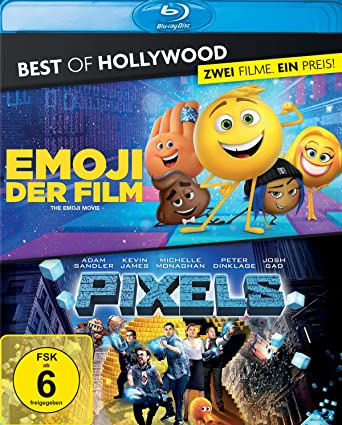 Emoji Der Filmpixels Best Of Hollywood Blu Ray Amazonde