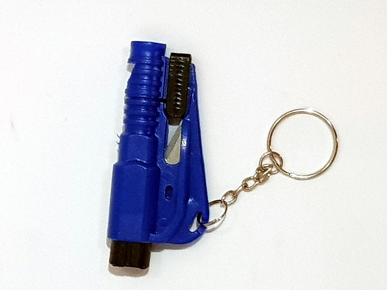 BLU Tech11-3 in 1 Rompi vetro Accessorio per SOS emergenza auto Taglia cintura - Fischietto Portachiavi
