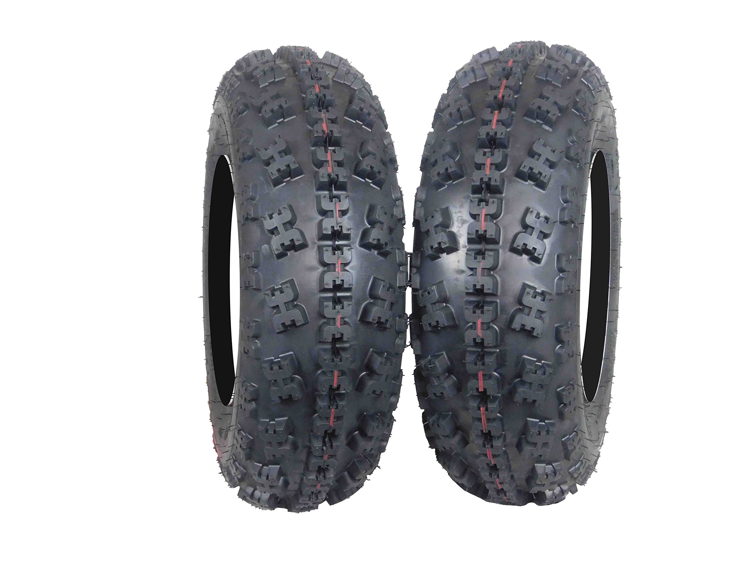 2 Set MASSFX EOS21710 ATV Tire Highly Durable 6 ply Dual Compound 21X7-10 21x7x10