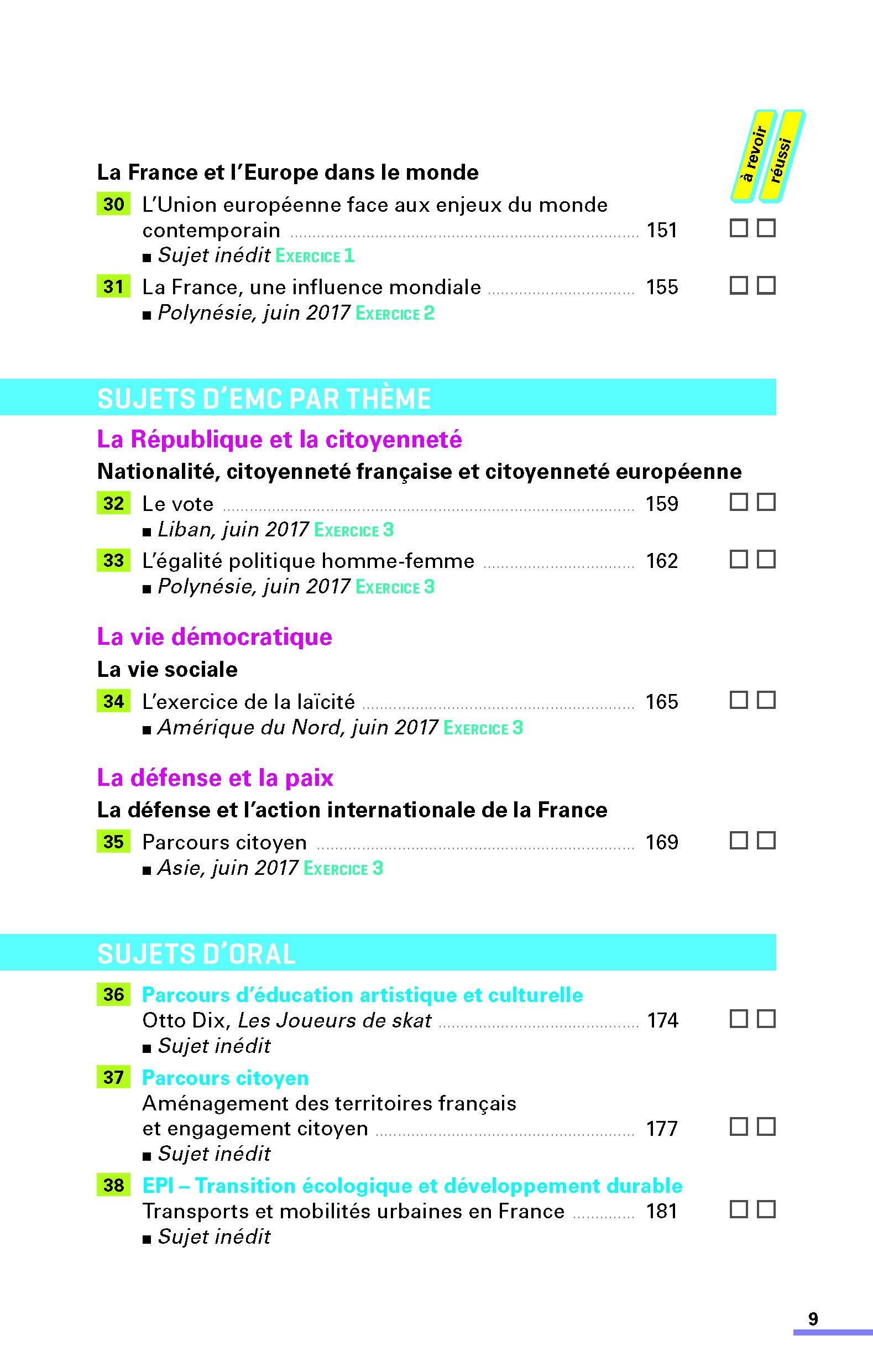 Histoire-Géographie, Enseignement moral et civique 3e : Sujets & corrigés Annales ABC du Brevet: Amazon.es: Laure Genet, Pascal Jézéquel, Grégoire Pralon, ...
