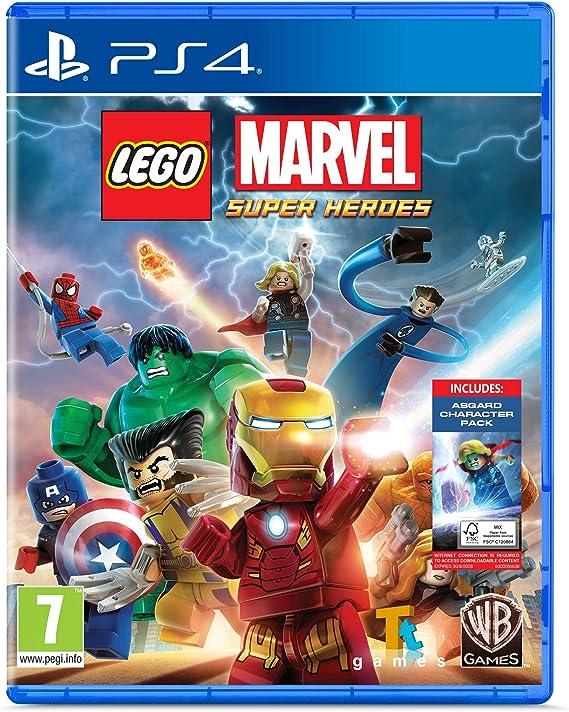 Lego Marvel Super Heroes - Amazon.co.UK DLC Exclusive (PS4)