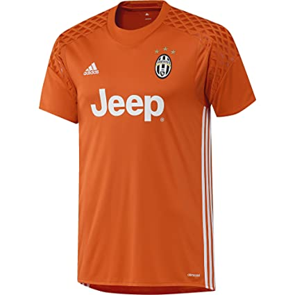 13e9c5da3 Image Unavailable. Image not available for. Color  adidas 2016-2017 Juventus  Home Goalkeeper Shirt