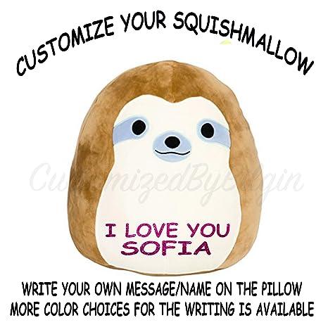 Amazon.com: Personalizada KELLYTOY squishmallow 13