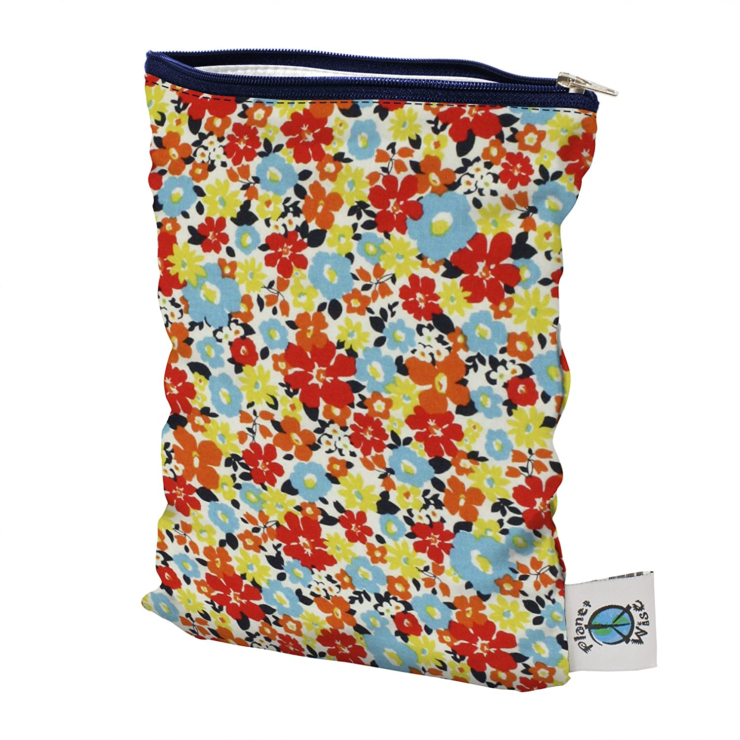 Planet Wise Wet Diaper Bag Small Jewel Woods