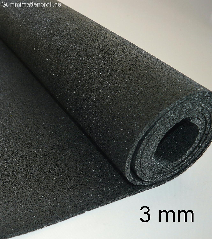 3mm Bautenschutzmatte 80 cm x 2 m Antirutschmatte Gummimatte Gummigranulat Matte