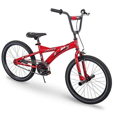 Huffy Kids Bike for Boys, Ignyte 20 inch Red & Blue, Gloss Crimson: Sports & Outdoors